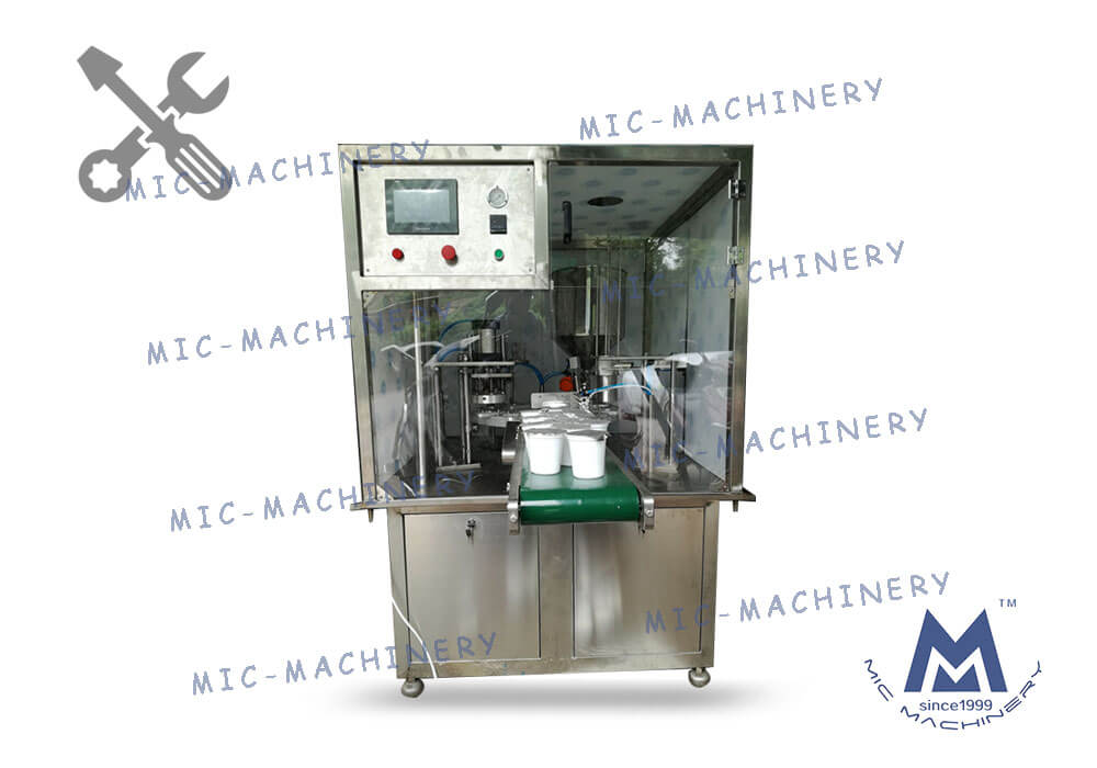 Micv01 automatic small cup filling machine debugging video