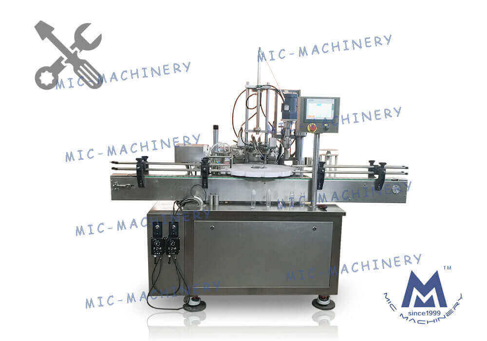 Adjust to the best Glass bottle, plastic bottle filling capping machine for customers