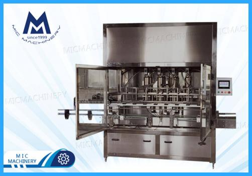 Olive oil filling machine (MIC-ZF8 linear piston oil filling machine)
