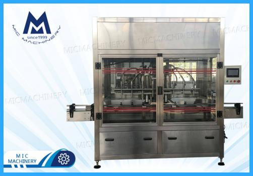 Coconut oil filling machine (MIC-ZF6 piston filling machine)