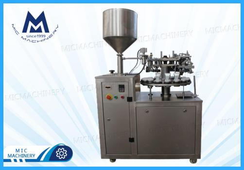 Shave Cream filling sealing machine (MIC-L30 aluminum tube filling sealing machine)