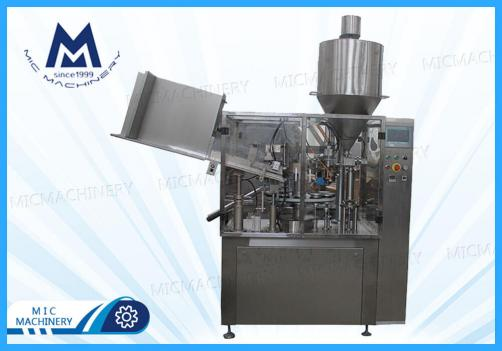 Hand cream filling machine ( MIC-R60 Auto Soft Tube Filling Sealing Machine)