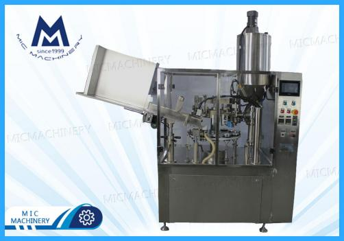 Face washing cream filling sealing machine( MIC-R60 Auto Soft Tube Filling & Sealing Machine)