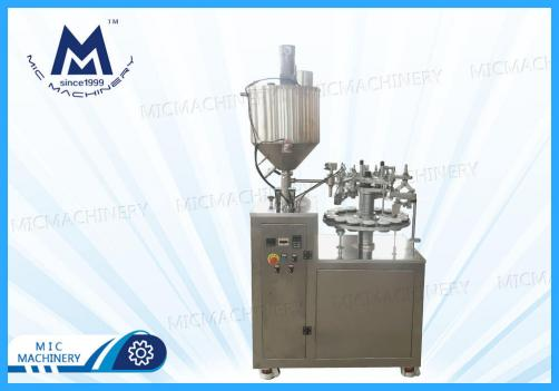 BB Cream Filling Sealing Machine(MIC-L30 semi automatic aluminum tube filling sealing machine)