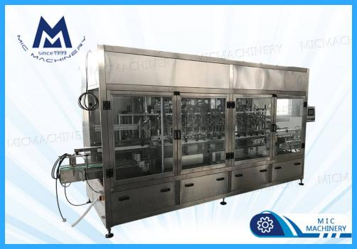 Detergent liquid filling machine ( MIC-ZF20 20 heads piston filling capping machine )