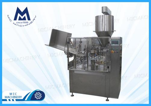L60 Epoxy resin automatic aluminum tube filling machine (MIC-L60 aluminum tube filling sealing machine)