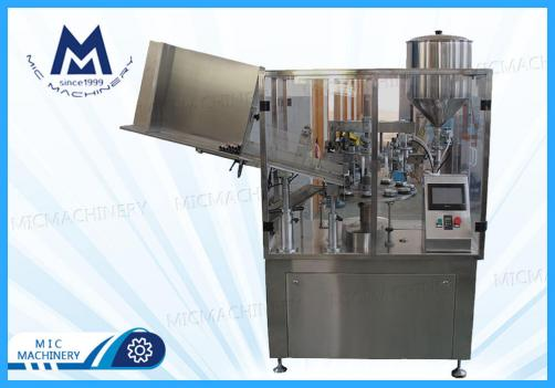 L45I super glue filling sealing machine (MIC-L45I aluminum tube filling sealing machine)