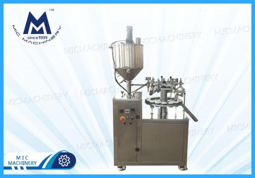 Paint filling sealing machine ( MIC-L30-I Aluminum Tube Filling & Sealing Machine )