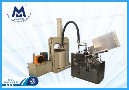 Silicone glue filling machine(MIC-L45-I Small Automatic Aluminum Tube Filling & Sealing Machine)
