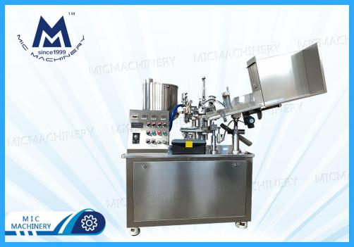 MIC-R45 Plastic & Laminated tube filling and sealing machine