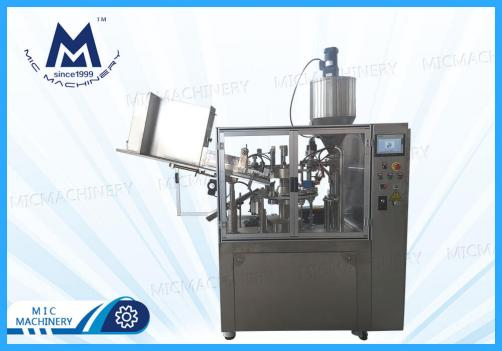 Lubricating grease hose filling machine ( MIC-R60-I filling & sealing machine with heating gun)