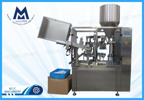 Paint Filling sealing machine (MIC-L60 aluminum tube filling sealing machine)