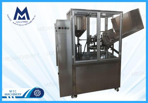 Resin aluminum tube filling sealing machine(MIC-L60 aluminum tube filling & sealing machine)