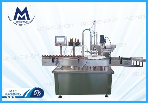 E-Liquid Filling Capping Machine(MIC-E40 Automatic small bottle glass bottle filling capping machine)