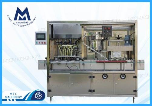 Syrup filling machine ( MIC-L40 small bottle glass dropper bottle spray head bottle filling & capping machine)
