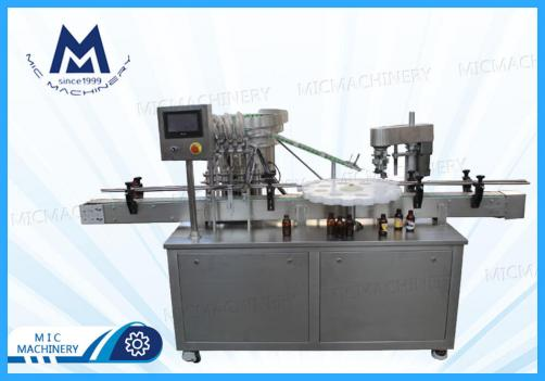 Oral liquid filling machine(MIC-L45 linear syrup and oral liquid filling machine)