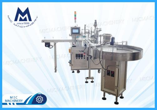 Eye drops filling machine(MIC-L45 eyes drops plastic bottle with inner plug filling and capping machine)