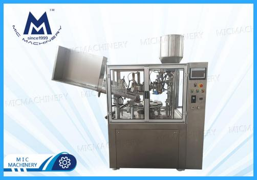 Ointment tube filling sealing machine (MIC-R60-I automatic plastic tube filling sealing machine with heating gun)
