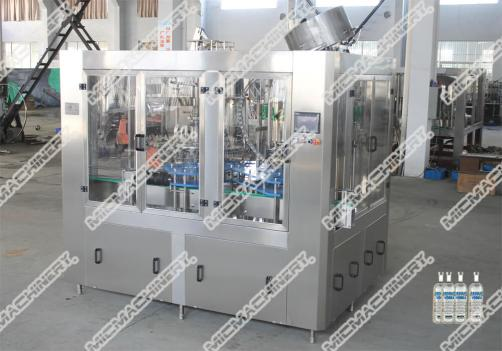 Fruite wine filling capping machine for glass bottle