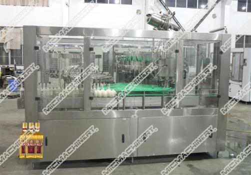 Chivas filling capping machine for glass bottle