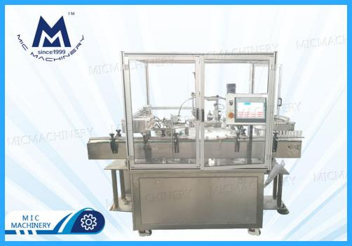 Nail glue filling capping machine(MIC-L40 Full automatic nail glue filling capping machine)