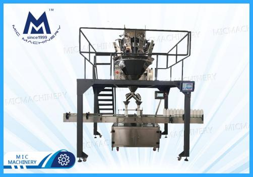 Automatic 20g-1000g granule bottle filling capping machine