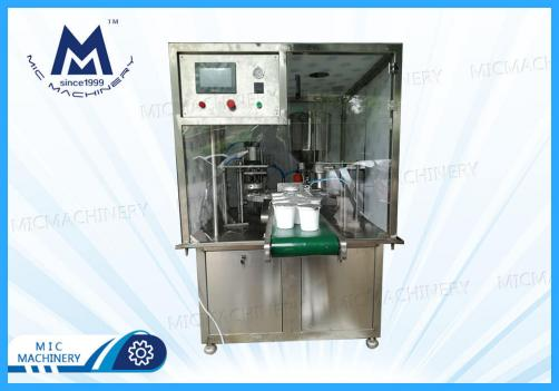 Yogurt filling machine (MIC-V01 Automatic Small Cup Filling Machine)