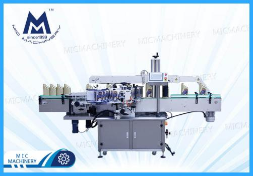 Single-sided adhesive labeling machines