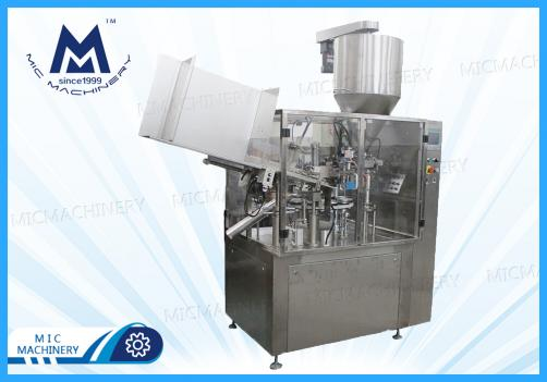 Space food filling machine (MIC-L60 automatic aluminum tube mixing & filling and sealing machine)