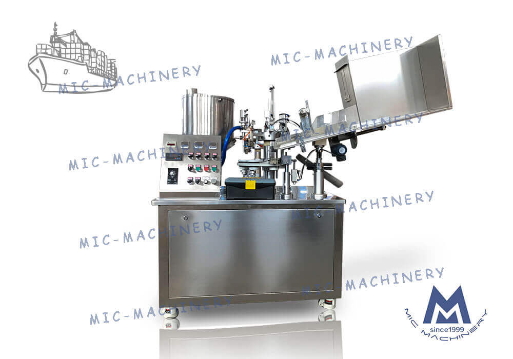 Export to Britain of R45 tube filling sealing machine