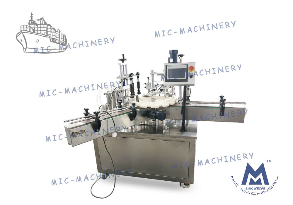 L40 perfume filling machine sent to Russia