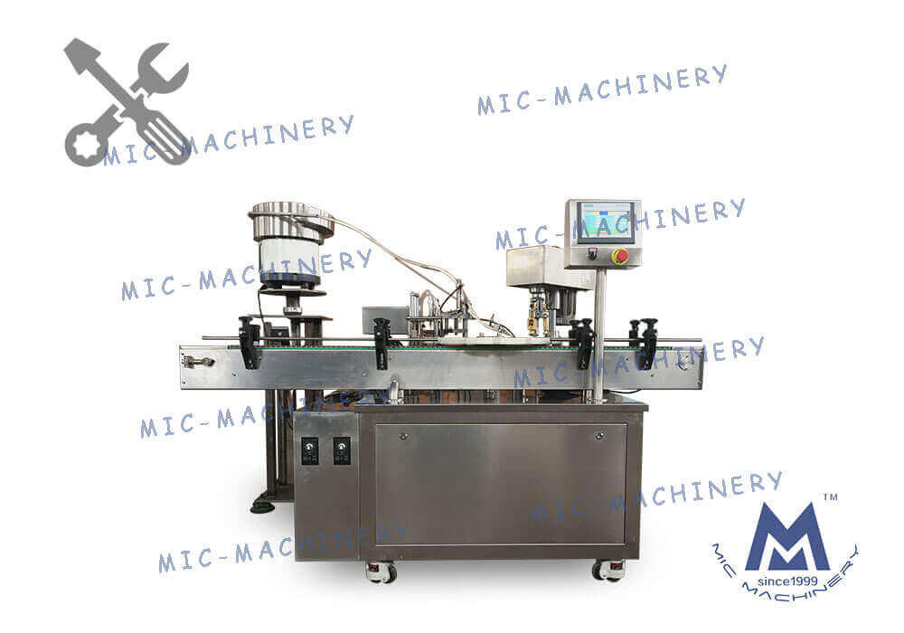 Debug MIC-L40 small glass bottle filling filling machine