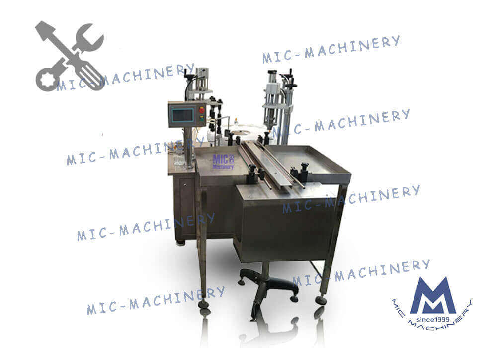 MIC-L40 Automatic Perfume Filling Cpping Machine Perfume Filler