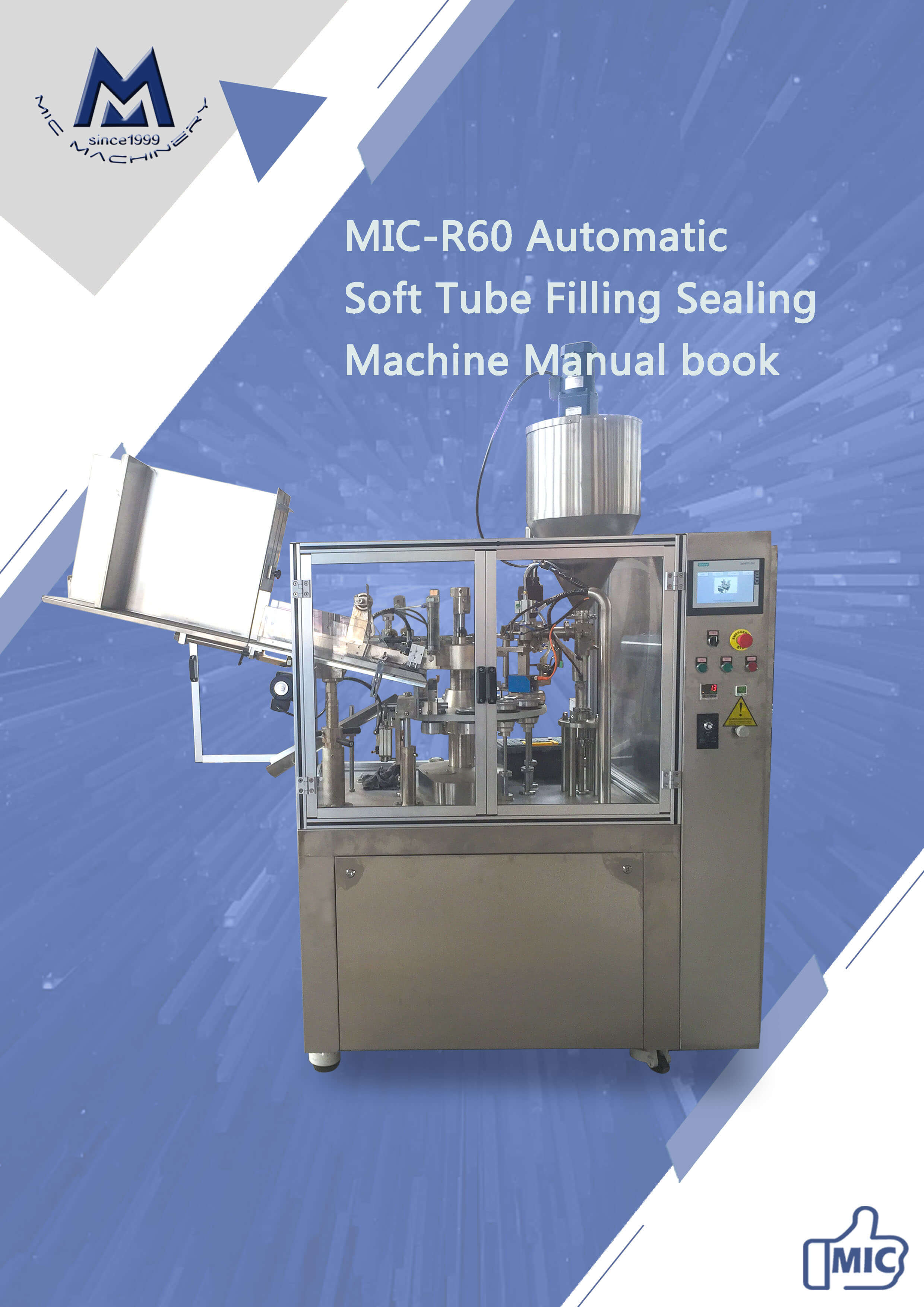 Manual of r60 automatic soft-tube machine
