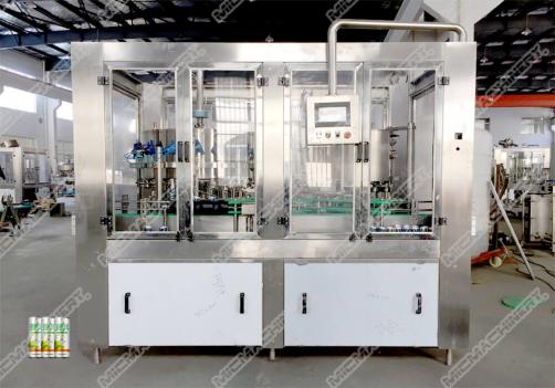Beer filling machine for can package
