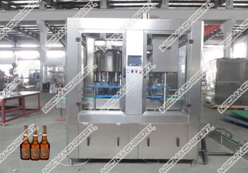 Carbonated Drink Filling Machine (Equal pressure filler of carbonated drinks in beer and drink industry)