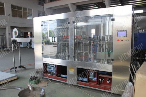 Cold Juice Filling Machine (Juice and other hot filling beverage )