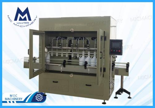 Detergent filling machine