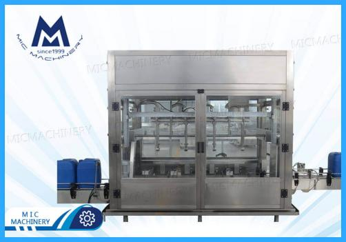 Weighing Disinfectant Filling Machine