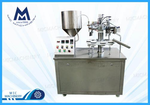 Semi-automatic Tube Filling Sealing Machine(Toothpaste, Hair-dyeing paste, Art palette and industry)