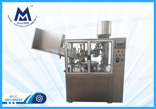 Cream filling machine(MIC-R60 Large automatic soft tube filling sealing  machine)