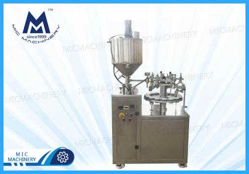 Anti-itch ointment Filling Sealing Machine(MIC-L30 semi automatic aluminum tube filling sealing machine)