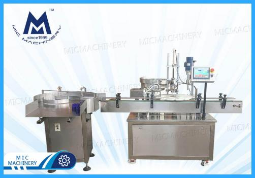 Medical dropper bottle filling machine