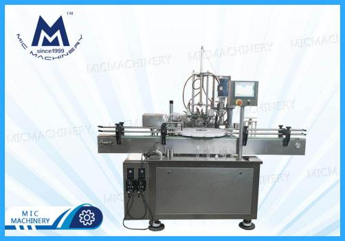 Automatic Glass, Plastic Bottle Filling Capping Machine ( Cosmetic products )