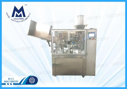 Auto Aluminum Tube Filling Machine with Material Pressing Machine(Tubular food)