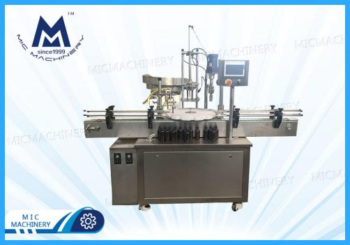 Penicillin bottle filling machine ( MIC-L40 Small glass Bottle Filling Corking And Seaming Machine)