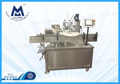 Automatic E-liquid Filling Capping Machine Two kinds bottle ( Glass bottles, Plastic bottles, Dropper bottles )