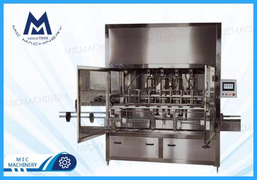 Olive oil filling machine (Edible oil, Palm oil, Sauce and other similar products)