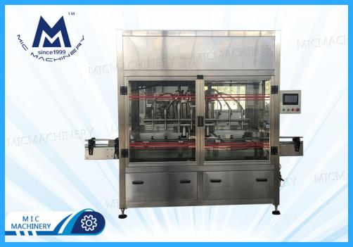Olive oil filling machine (MIC-ZF8 piston filling machine)