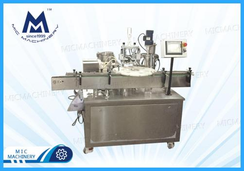 Eyedrop filling machine(Daily chemistry, Cosmetics. Small glass bottles and plastic bottles)